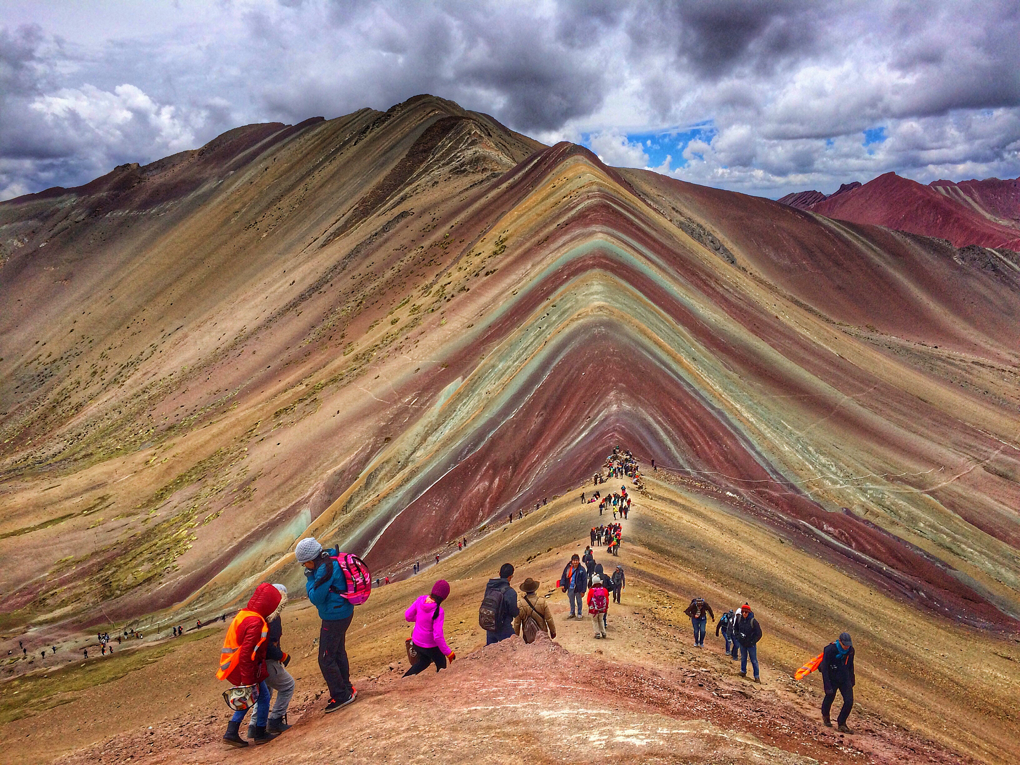 Places you never thought to visit - Rainbow Mountain Peru